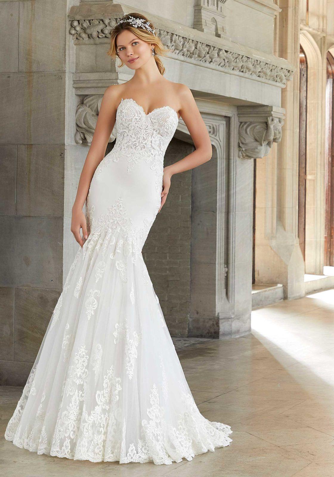 Sonia Wedding Dress Morilee In 2020 Wedding Gowns Mermaid Designer Wedding Dresses Tulle Wedding Dress