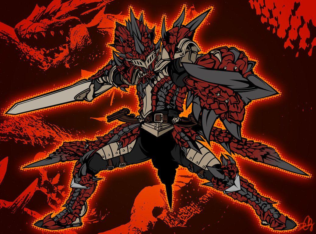 Rathalos Armor Monster Hunter Art Monster Hunter Rathalos