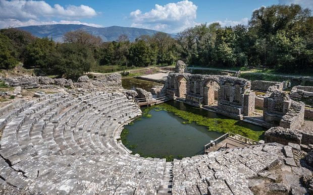 Butrint is widely regarded as one of the most important archaelogical sites in Europe Photo: ALAMY  Albania: the best-kept secret in the Mediterranean?