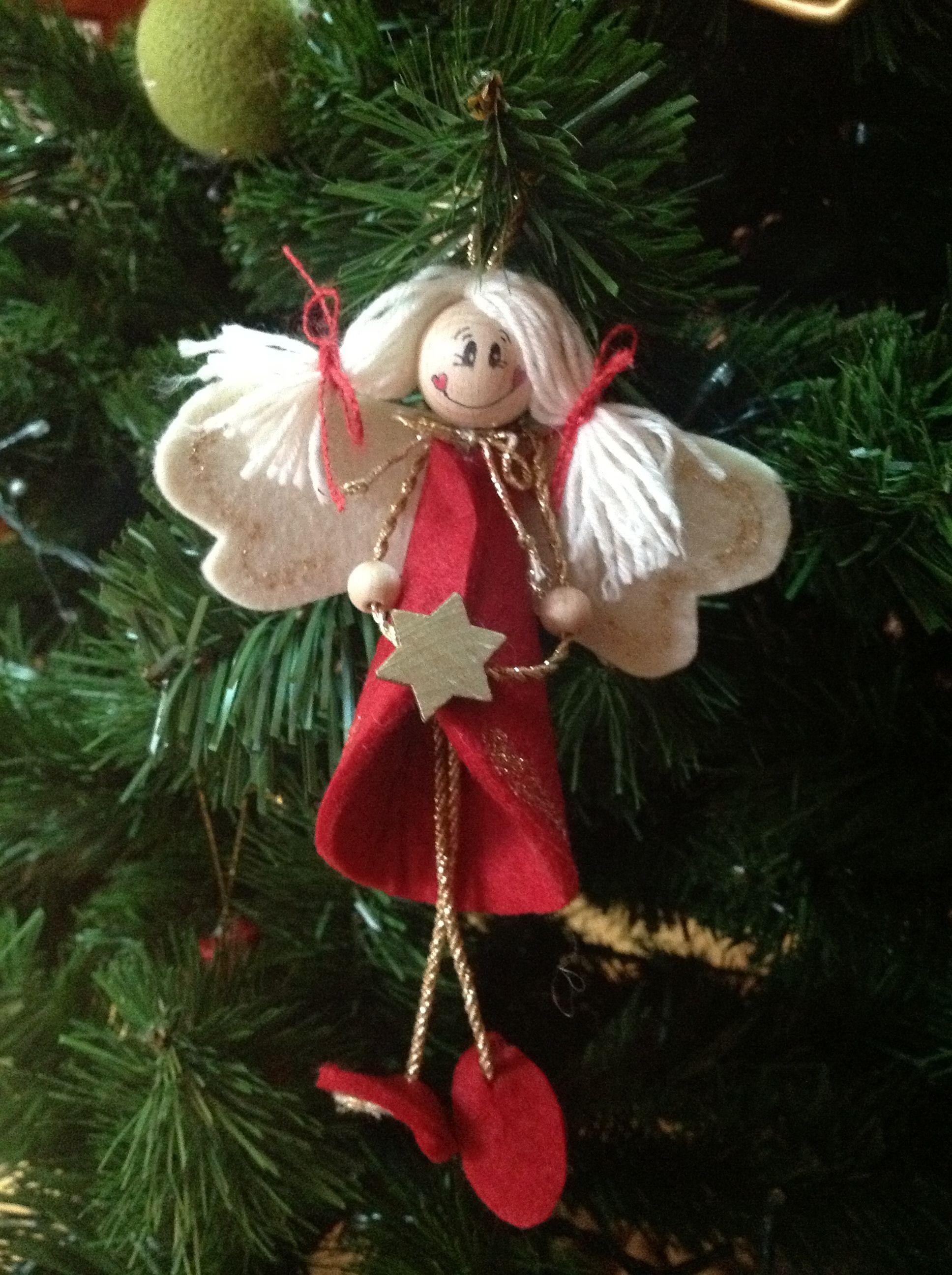 Decorazioni natalizie alas angeles hadas duendes for Ornamenti casa