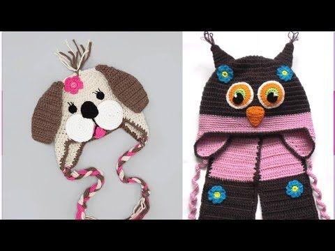 lindos juegos de gorros y vestidos para tu bebe o nio tejidos a crochet youtube