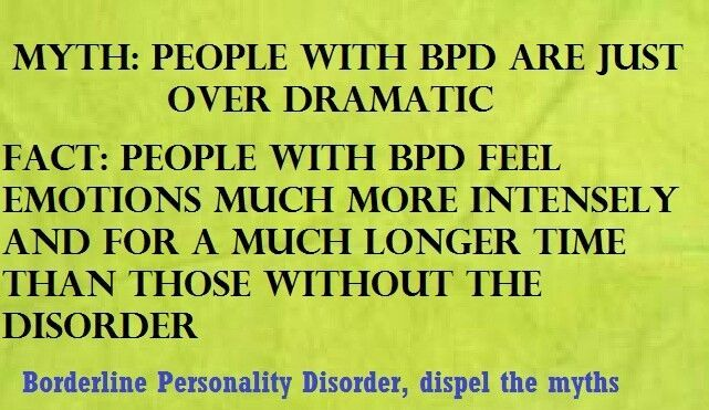 BPD: Something We Do To Others?