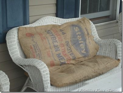 Outstanding Feed Bag Cushions For Pallet Seat Maybe For My Kitchen Machost Co Dining Chair Design Ideas Machostcouk