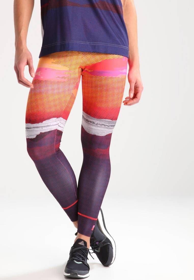 adidas Performance. NATURE - Collant - multicolor.  leggins  sport  fitness   zalandoIT Lunghezza interna della gamba 73 cm nella taglia 40 42. 73631b3b706