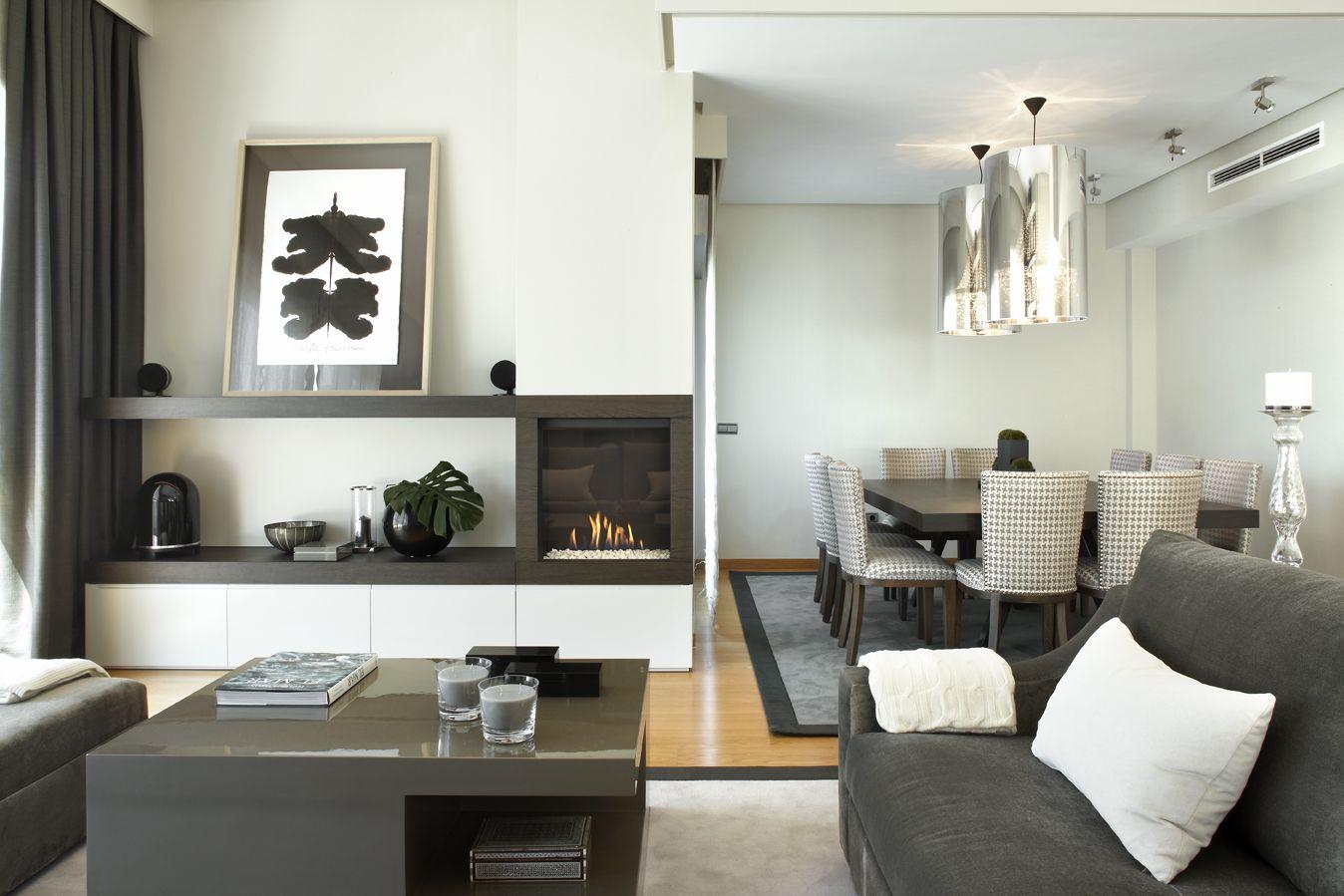 Molins interiors arquitectura interior interiorismo - Decoracion mesa de comedor ...