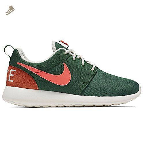 db9298e426d5 Nike Womens Roshe One Retro Green Pink Mesh Trainers 7.5 US - Nike sneakers  for women ( Amazon Partner-Link)