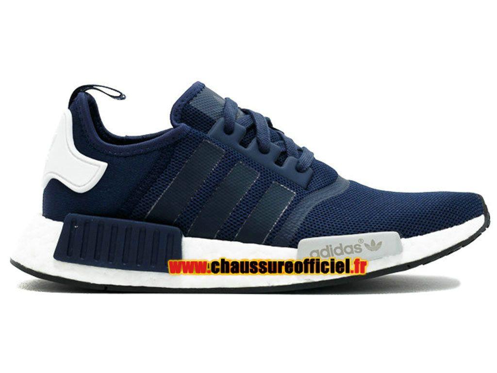 Adidas Originals NMD Runner Collegiate Navy Pas Cher Pour Homme Bleu / Blanc  S79161