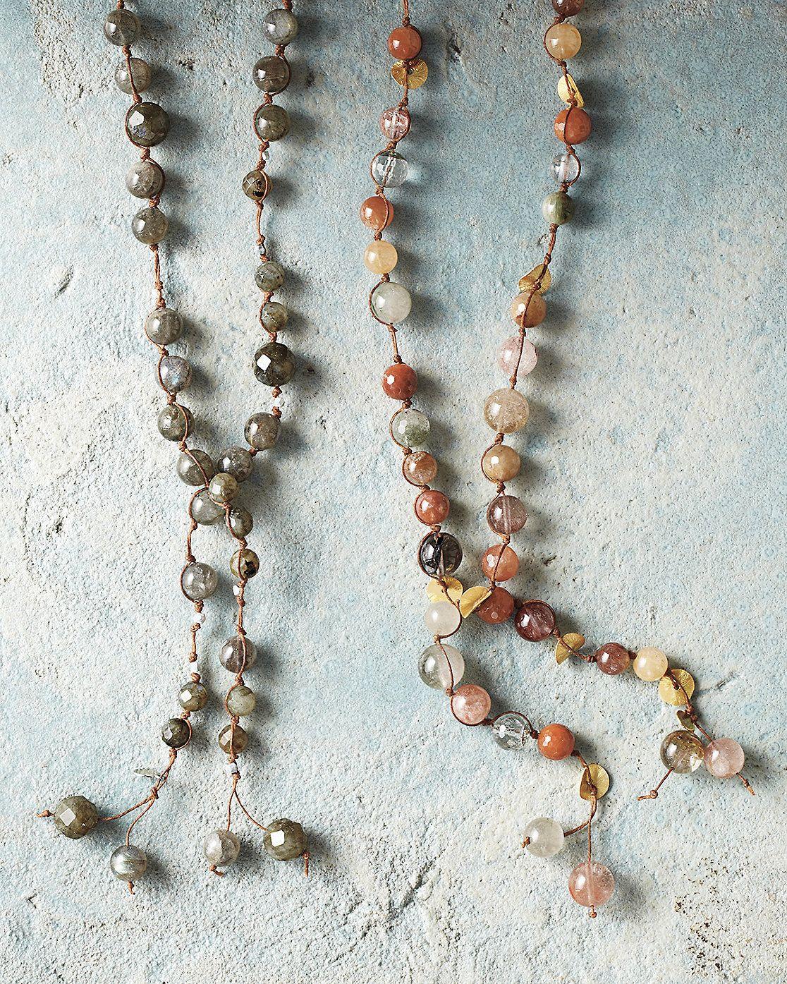 in2 design Long Carola Necklace Garnet Hill Jewelry Pinterest