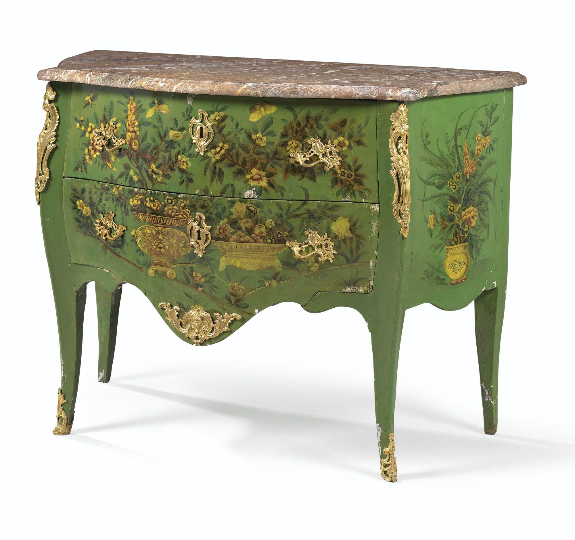 A Gilt Bronze Mounted Varnish Commode Louis Xv Circa 1740 Antique Furnitures Antikke Mobler Vintage Mobler Et Mobler