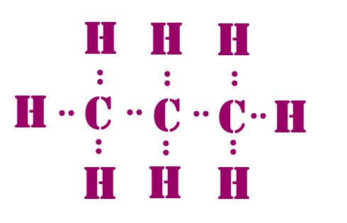 C Lewis Dot Structure C3H8 lewis dot ...