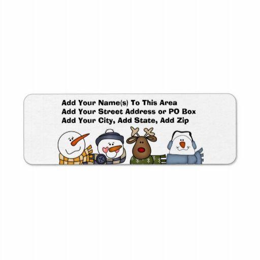 Checks And Return Address Labels Arts
