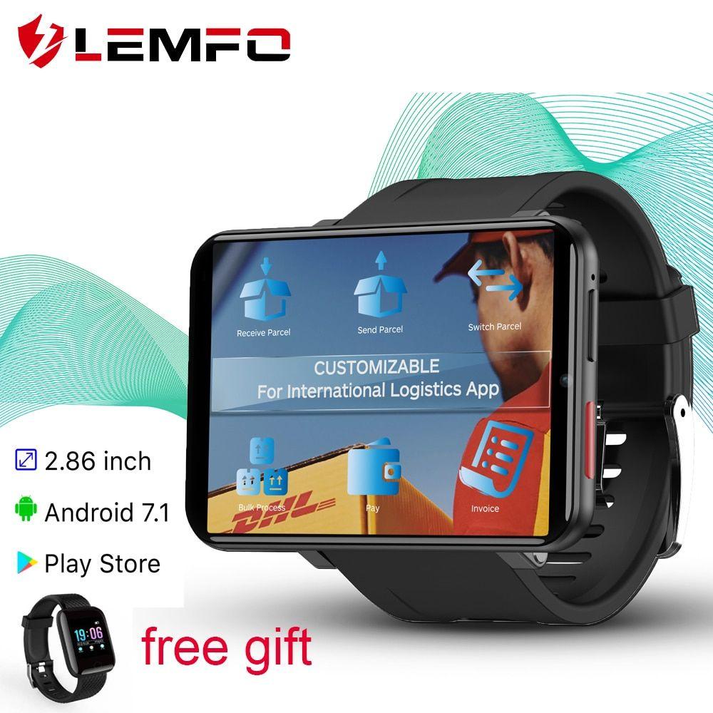 LEMFO LEMT 4G Smart Watch Men Android 7.1 3GB+32GB 2