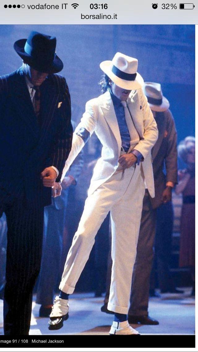 ... Smooth Criminal dance scene  Cappello Borsalino 5697bf2c952f