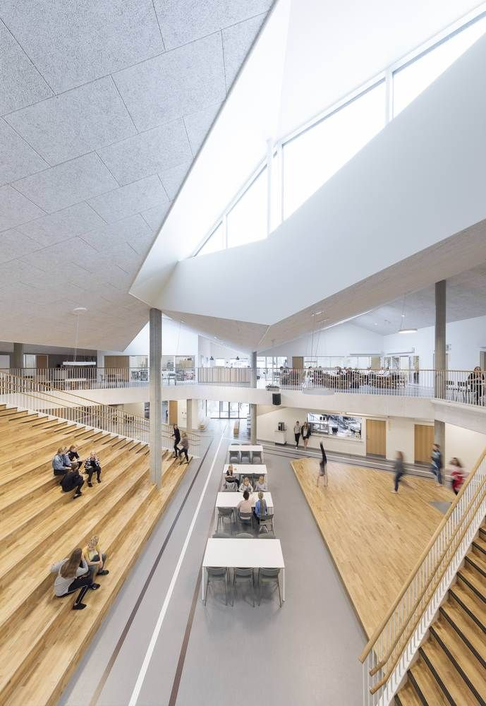 Gallery Of Skovbakke School Cebra 4 Pinterest Architecture Arch And Building