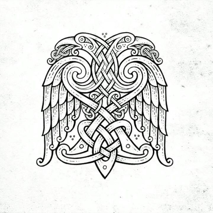 woheaded ornamental eagle 🦅 Timelapse video 🎥 (iPad pro