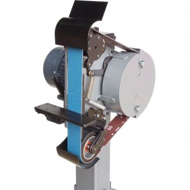 this is a great machine but I'm glad i bought the plans for the No Weld Grinder.Just dont have 2k to spend. L096 | Radius Master 482 Belt Linisher Sander | machineryhouse.com.au