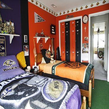 Merveilleux NFL Bedroom