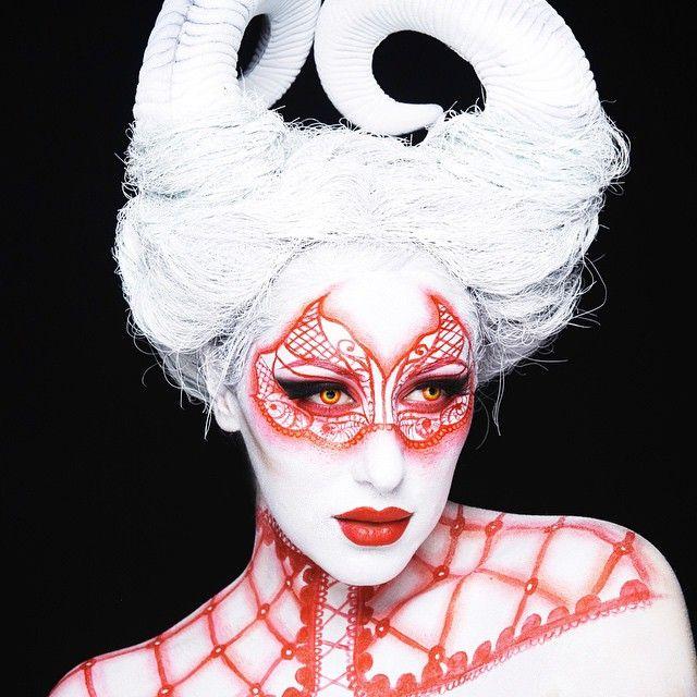 halloween makeup - Chrispy Halloween