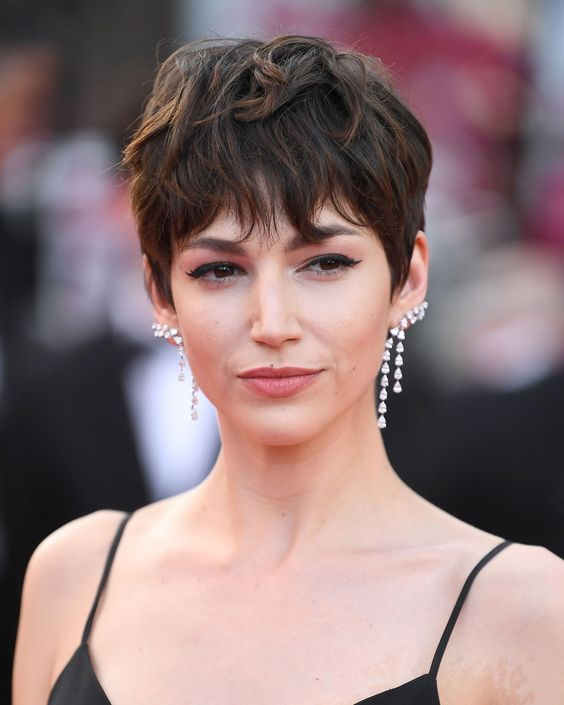 Most Amazing Short Pixie Haircuts For Every Woman 2019 Page 5 Of 30 Hairstyle Zone X Thick Hair Styles Glamorous Hair Short Hair Styles Pixie