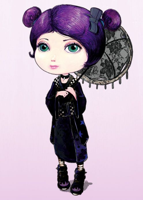 Gothic Lolitas on the Behance Network