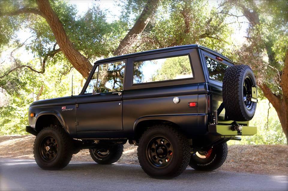 Icon Bronco Vehicles Pinterest