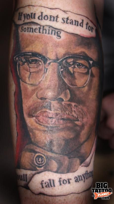 d1f1de0a066f5 Malcolm X By Any Means Necessary Tattoo malcolm x tattoo quotes ...