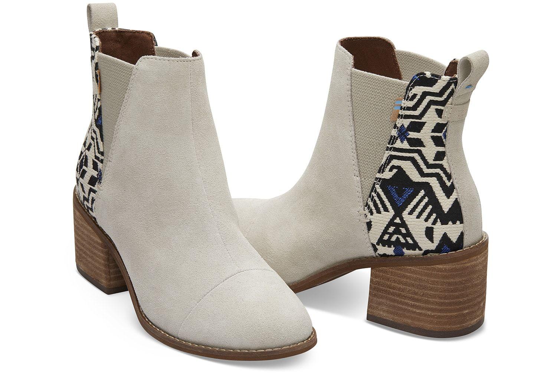 4c369273b Birch Suede Metallic Jacquard Women's Esme Boots | My Style | Boots ...