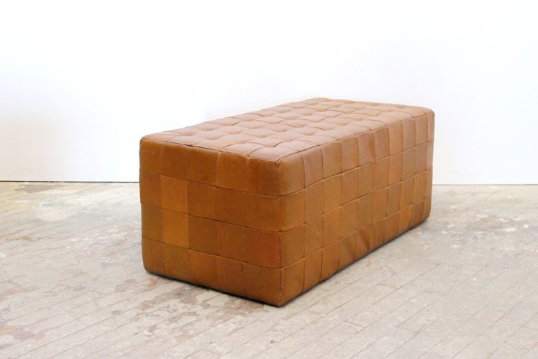 Pair of Leather Benches by De Sede Bench, Commercial interiors and - designer betonmoebel innen aussen