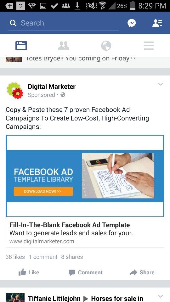 Pin By Mahmudul Alam On Converting Facebook Ad Examples Pinterest - Facebook ad template library