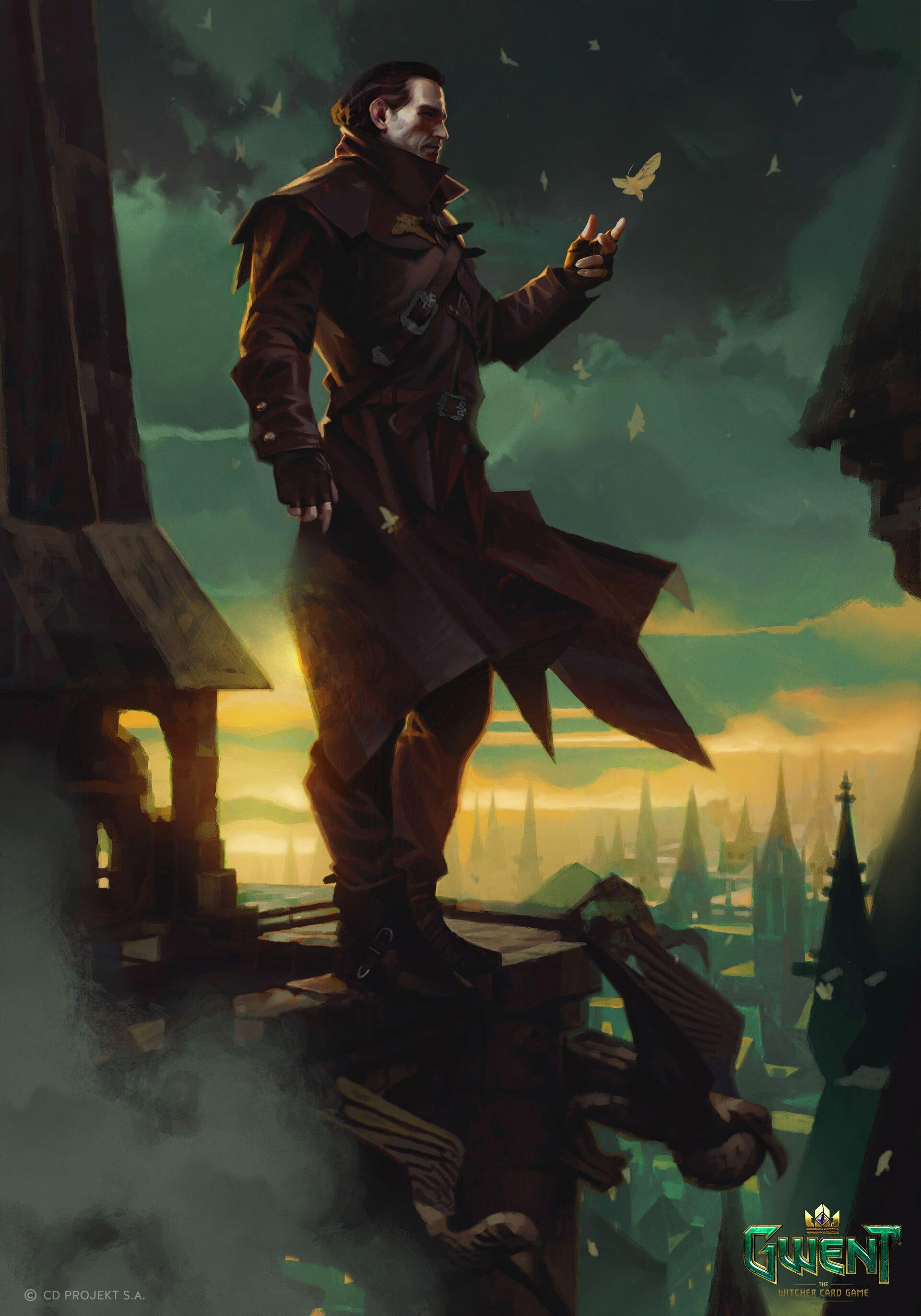 Digital Art Artwork Portrait Display Video Games Dettlaff The Witcher 3 Wild Hunt Hearts Of Stone The Witcher 3 Wild Hun Witcher Art Vampire Art Game Art