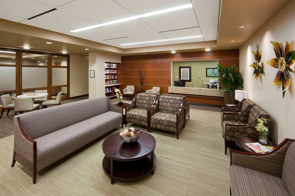 Soothing Decor Natural Light And Friendly Office Staff