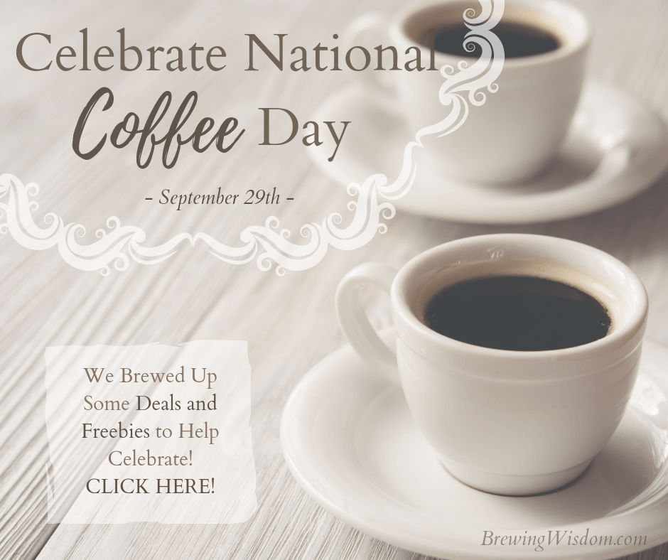 Celebrate National Coffee Day! September 29th Deals and