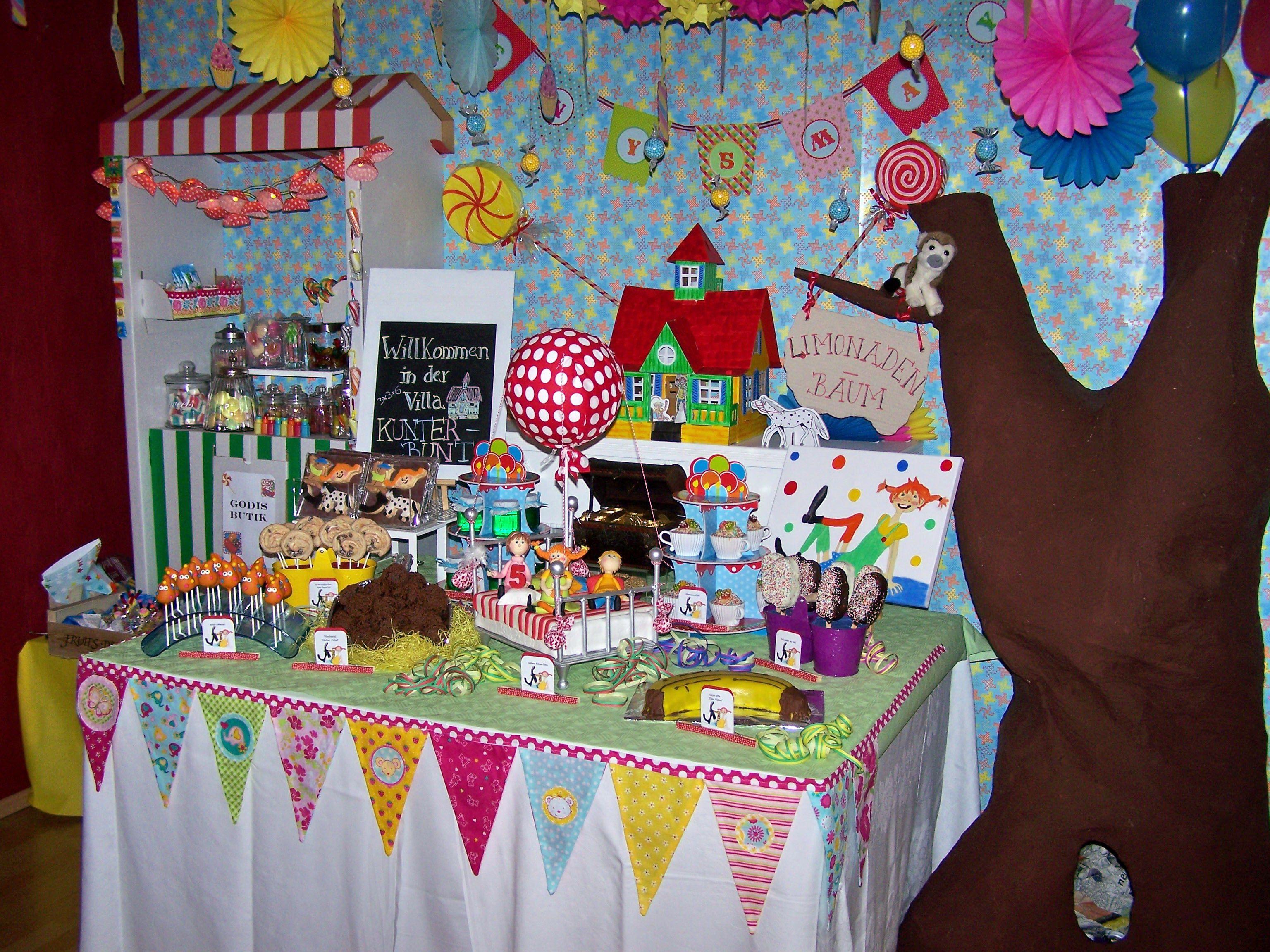 Perfekt Pippi Langstrumpf Party Zum 5. Geburtstag Leny