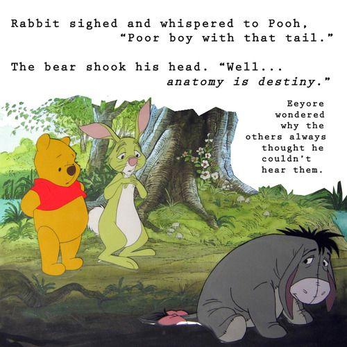 Eeyore Freud Eeyore Quotes Eeyore Winnie The Pooh Quotes