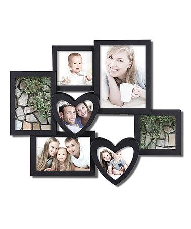 Loving this Seven-Opening Photo Collage Frame on #zulily ...