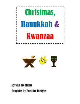 Christmas, Hanukkah & Kwanzaa: Cards & Labels, Webs and Ve