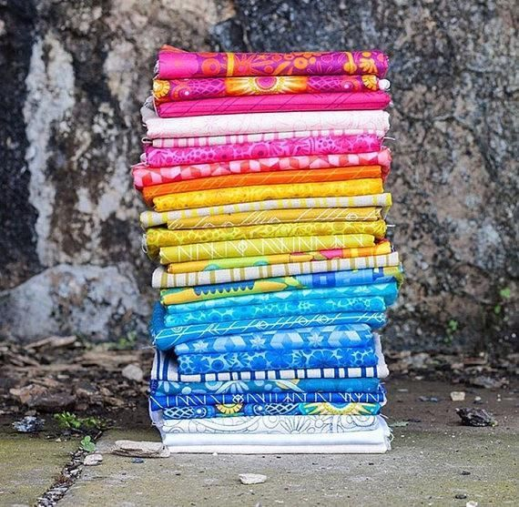 Image result for Diving Board Fat Quarter Bundle Alison Glass for Andover Fabrics