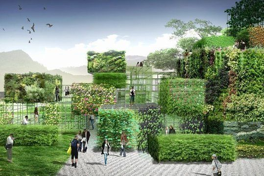 New Garden In China To Feature Plant Blocks