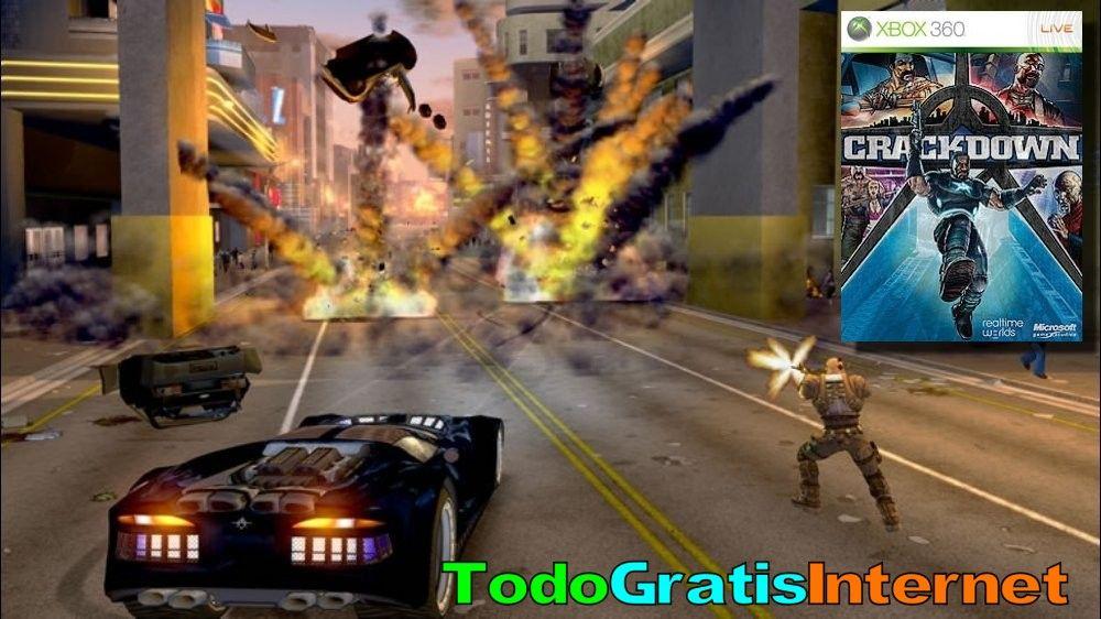 Gratis Crackdown Para Xbox 360 Compatible Con Xbox One Gratis