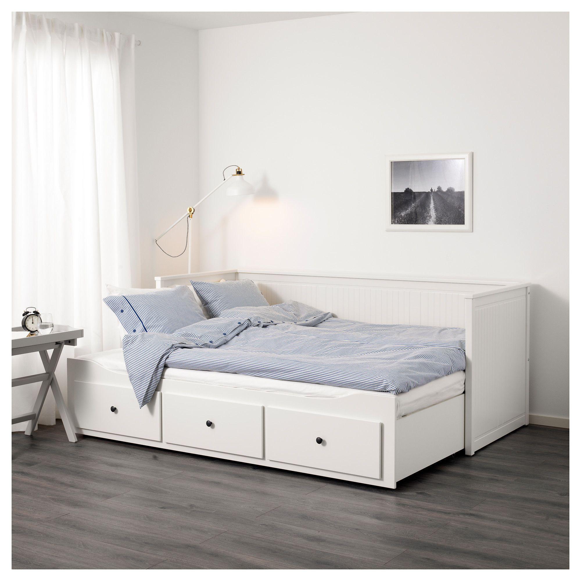 HEMNES κρεβάτι day-bed με 3 συρτάρια - IKEA | home sweet home <3 ...