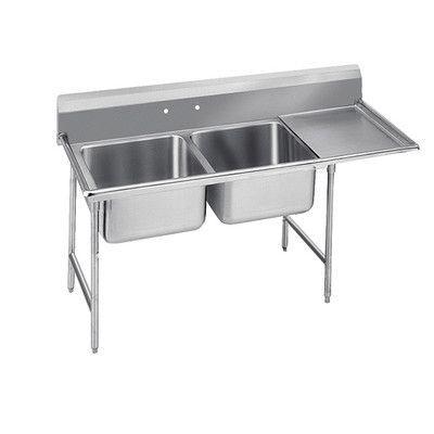 Advance Tabco 900 Series Free Standing Service Sink 레스토랑 주방 디자인 레스토랑 주방 디자인