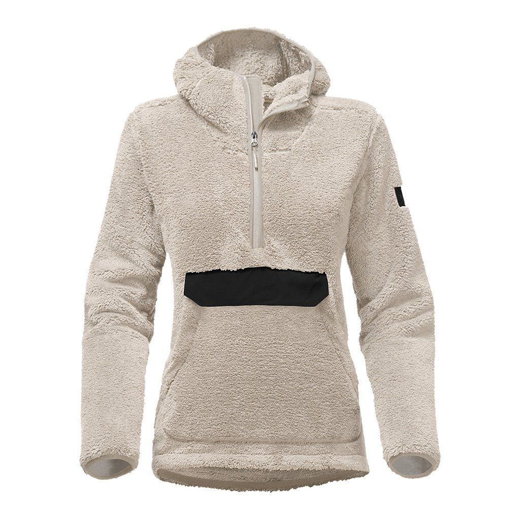 822b3affbca Women s Campshire Sherpa Fleece Pullover Hoodie in Vintage White by The  North Face