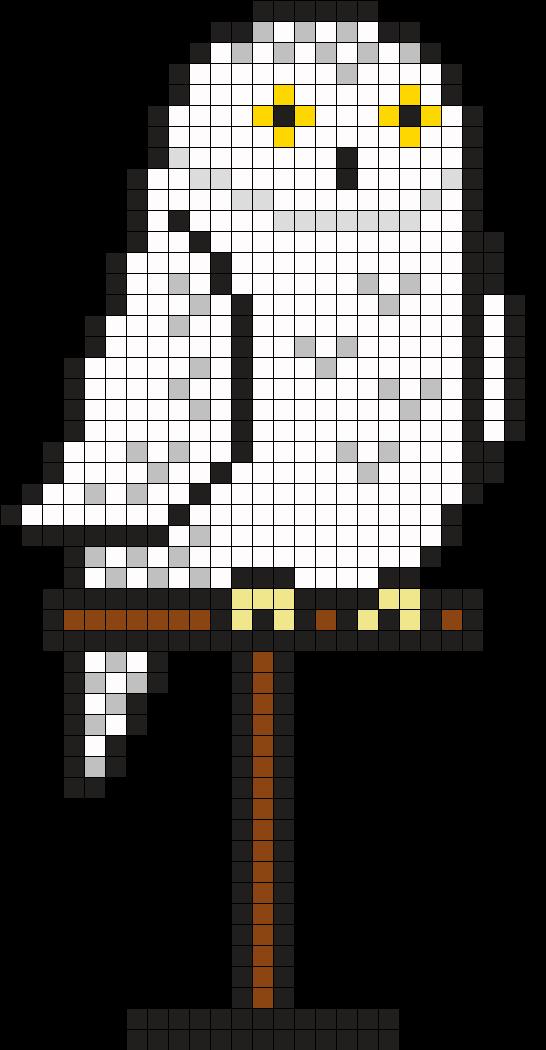 Hedwig by Tashar_h on Kandi Patterns   Pixelville   Harry