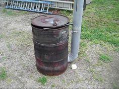 barrel kiln firing