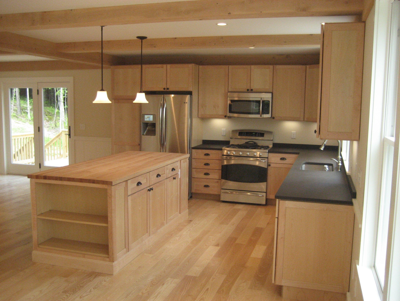 a modular home kitchen. looks nice!   Decoración de hogar ...