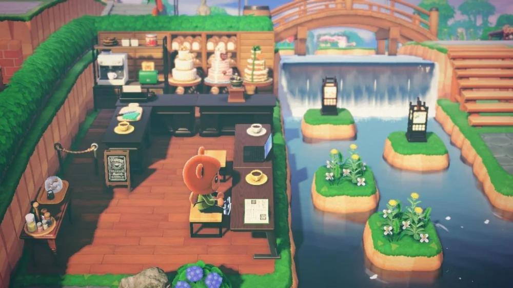 animal crossing cafe arbeiten