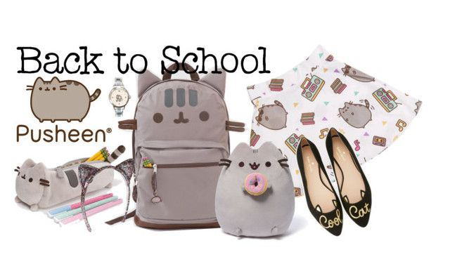 """""""#PVxPusheen"""" by girl-pictured ❤ liked on Polyvore featuring Pusheen, Gund, Kate Spade, contestentry and PVxPusheen"""