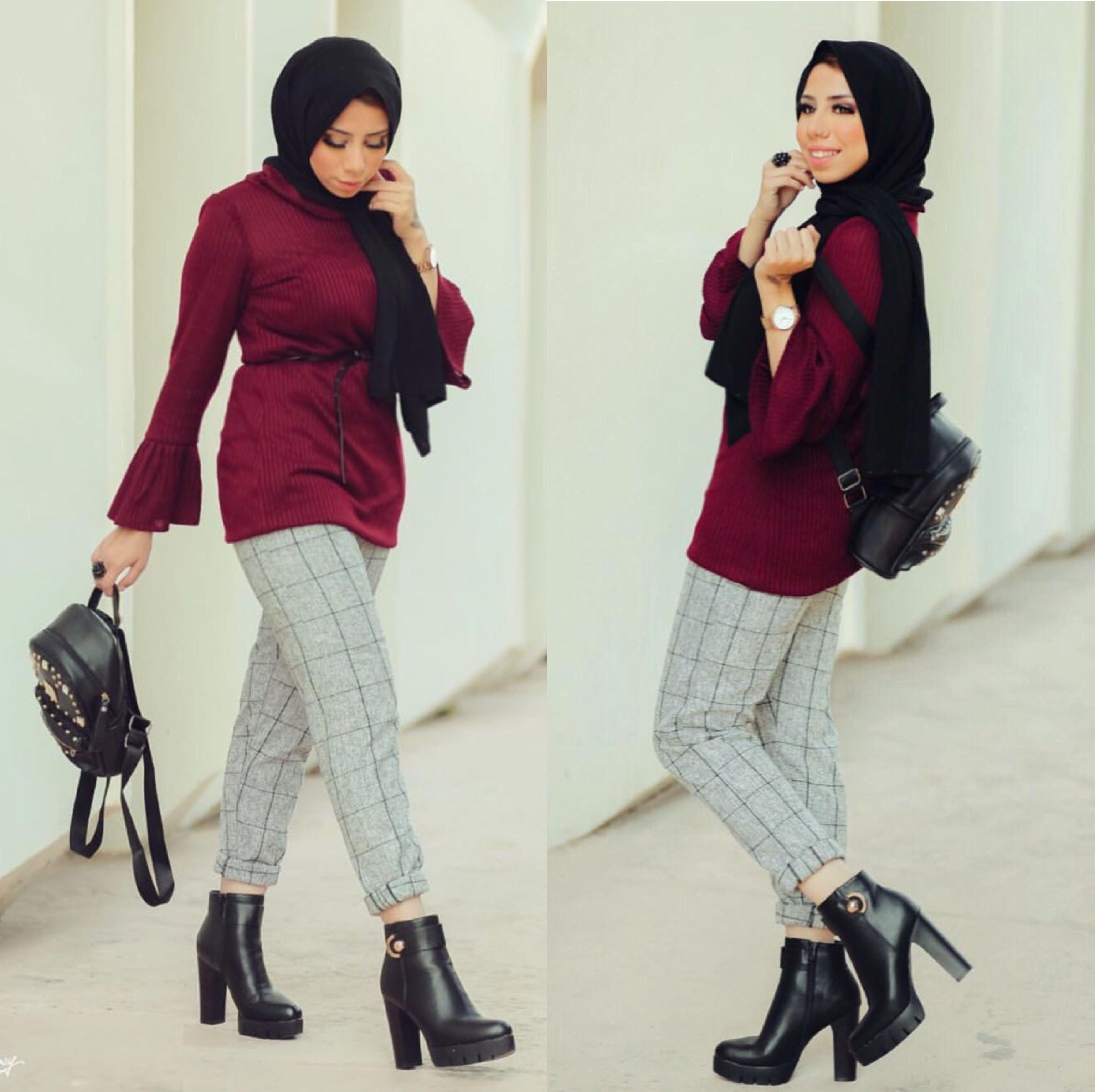Hulya Aslan hijab fashion looks     Just Trendy Girls