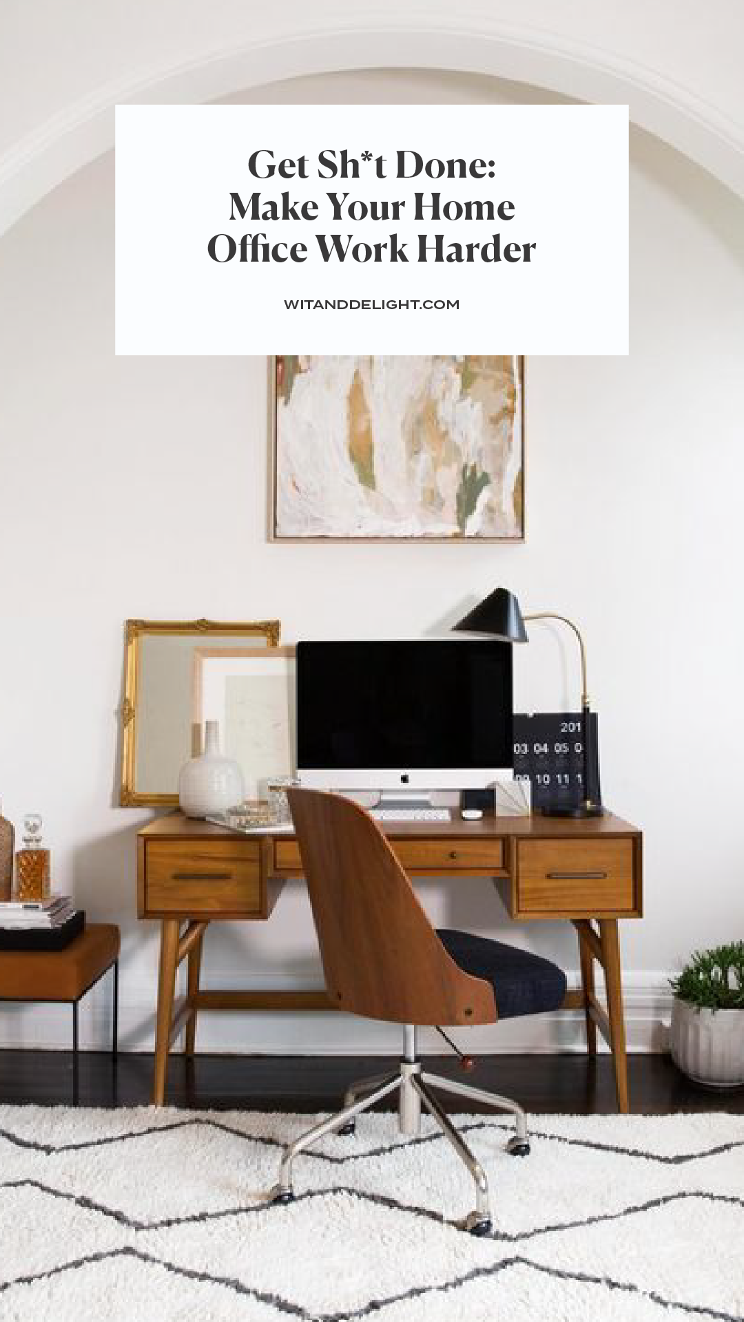 Get Sh*t Done: Make Your Home Office Work Harder | Pinterest ...