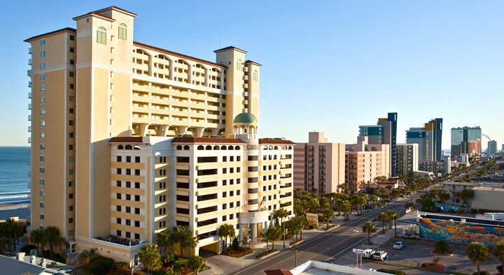 An Oceanfront Myrtle Beach Hotel Camelot By The Sea Part Of Oceana Resorts